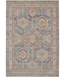Nourison Homestead Hms01 Light Blue Multi Area Rug