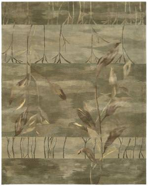 Nourison Reflections RF-02 Sage Area Rug