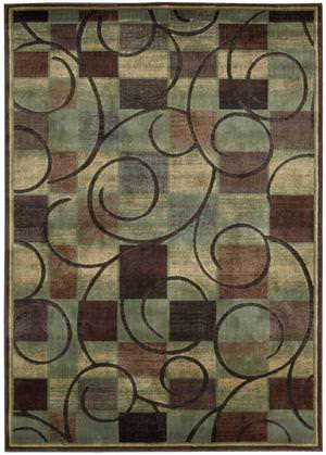 Nourison Expressions XP-01 Brown Area Rug