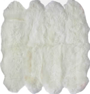 Nuloom Handmade Octo Sheepskin Natural Area Rug