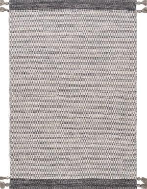 Nuloom Jenson Tassel Grey Area Rug