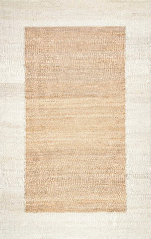 Nuloom Laird Jute Off-White Area Rug
