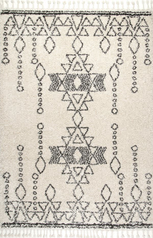 Nuloom Veola Moroccan Off-White Area Rug