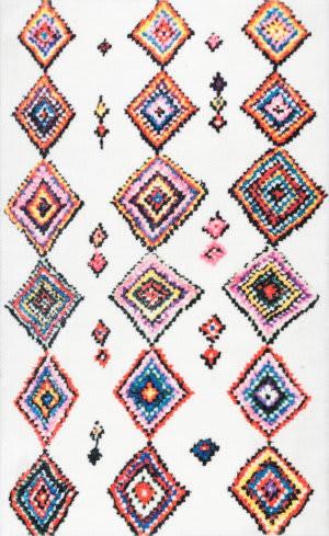 Nuloom Moroccan Aztec Mittie Multi Area Rug