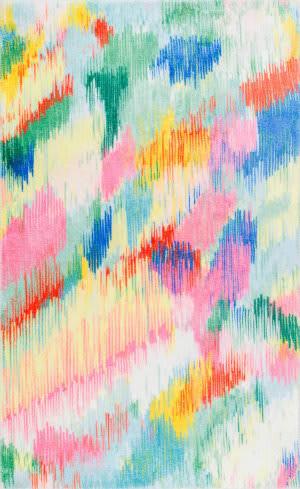 Nuloom Surreal Canvas Raye Multi Area Rug