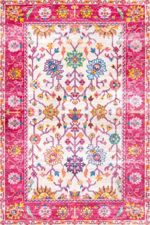 Nuloom Vintage Gauthier Pink Area Rug
