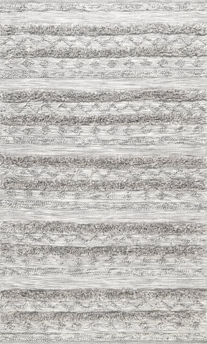Nuloom High Low Josiah Grey Area Rug
