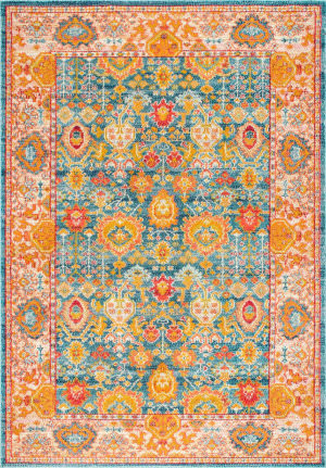 Nuloom Vintage Kenna Orange Area Rug