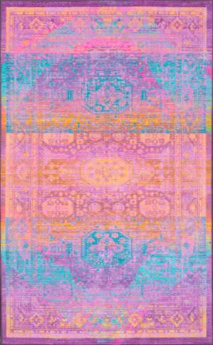 Nuloom Vintage Danyel Purple Area Rug