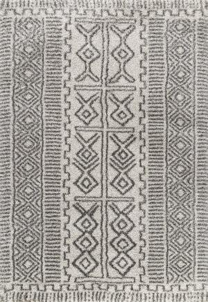Nuloom Hurley Tribal Ivory Area Rug