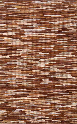 Nuloom Linares Abstract Light Brown Area Rug