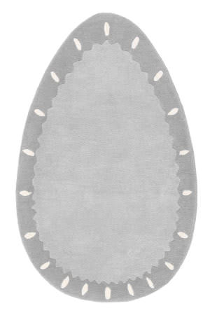 Nuloom Ellisi Egg Grey Area Rug