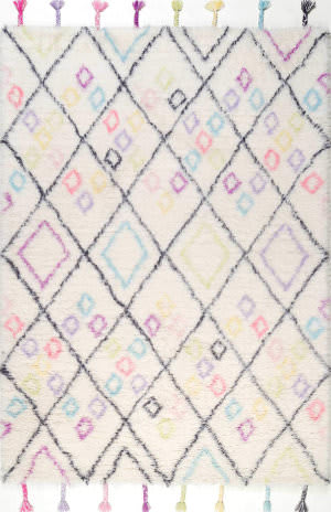 Nuloom Moroccan Annice Off White Area Rug