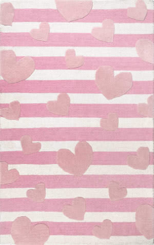 Nuloom Louella Floral Pink Area Rug