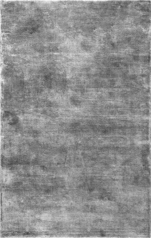 Nuloom Solid Viscose Grey Area Rug