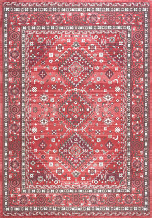 Nuloom Daenerys Persian Red Area Rug