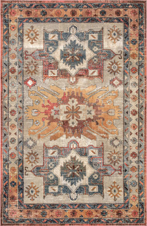 Famous Maker Traditional Linda Multi Area Rug