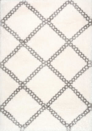 Nuloom Villasenor Trellis Grey Area Rug