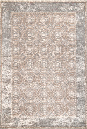 Famous Maker Traditional Dennise Beige Area Rug