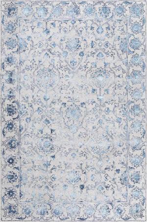 Nuloom Astrid Floral Blue Area Rug