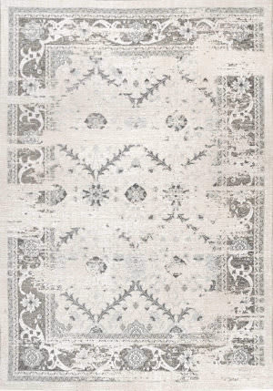 Nuloom Vintage Marietta Grey Area Rug