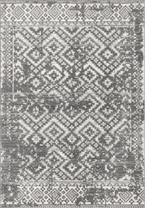 Famous Maker Vintage Bethany Gray Area Rug