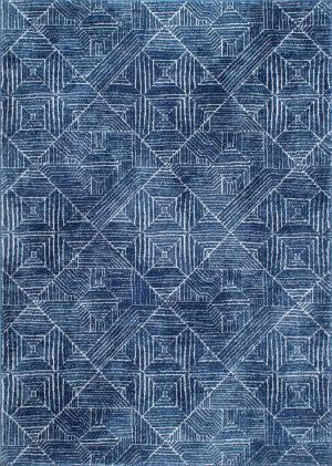 Nuloom Vintage Wendolyn Blue Area Rug