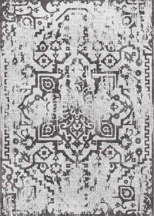 Nuloom Vintage Gennie Light Grey Area Rug