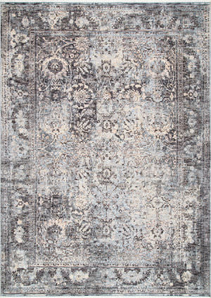 Famous Maker Faded Patricia Gray Area Rug