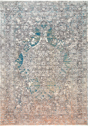 Famous Maker Faded Selena Gray Area Rug