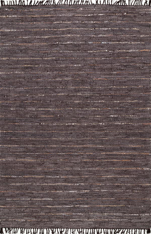 Nuloom Dunwood Leather Brown Area Rug