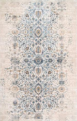 Nuloom Vintage Floral Deirdre Beige Area Rug