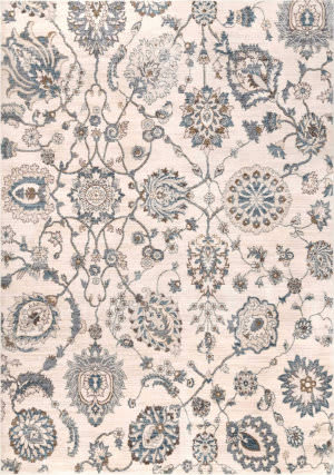 Nuloom Vintage Floral Chalmers Beige Area Rug