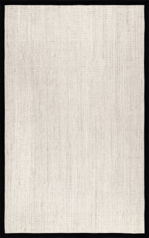 Nuloom Bordered Maryjo Black Area Rug