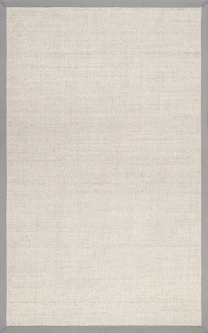Famous Maker Bordered Chloe Grey Area Rug