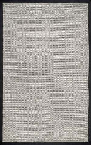 Famous Maker Bordered Chloe Black Area Rug