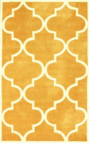 Nuloom Hand Tufted Fez Mustard Area Rug