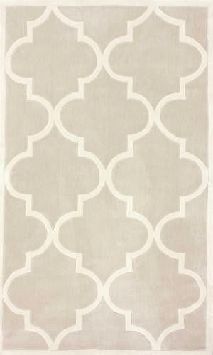 Nuloom Hand Tufted Fez Neutral Area Rug
