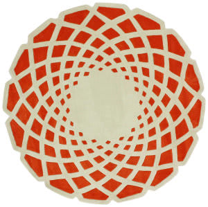 Nuloom Hand Tufted Lumi Orange Area Rug