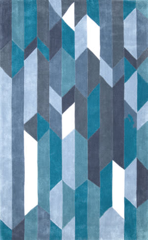 Nuloom Hand Tufted Acr234a Blue Area Rug