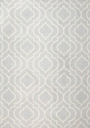 Nuloom Bridget Trellis Light Grey Area Rug
