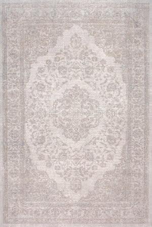 Nuloom Vintage Renay Floral Grey Area Rug
