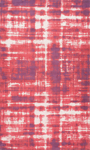 Nuloom Benton Vintage Overdyed Red Area Rug