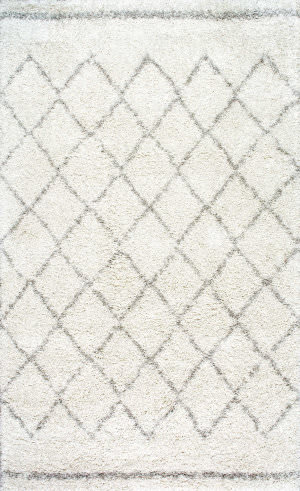 Nuloom Vennie Shaggy Natural Area Rug