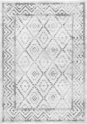 Famous Maker Vintage Lynell Gray Area Rug