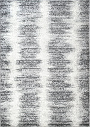 Nuloom Nydia Stripes Grey Area Rug