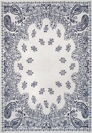 Nuloom Thomas Paul Power Loomed Oriental Silver Area Rug
