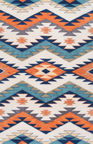Nuloom Hand Hooked Tribal Rhona Multi Area Rug