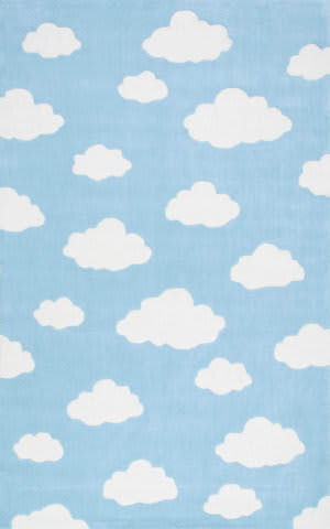 Nuloom Cloudy Sachiko Blue Area Rug