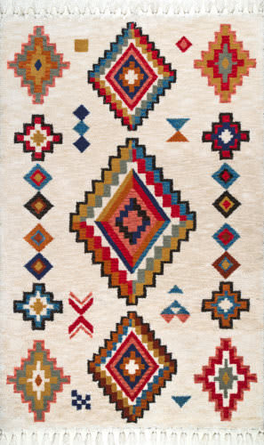 Famous Maker Marybeth Tassel Multi Area Rug